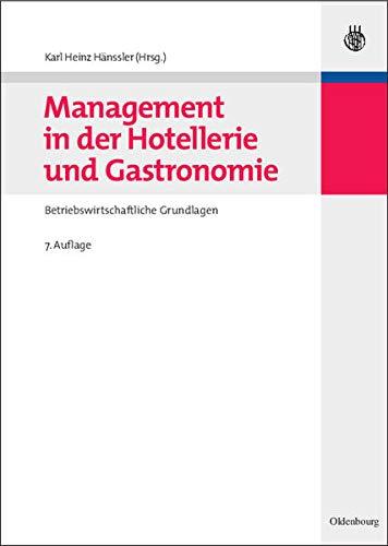 9783486584202: Management in der Hotellerie und Gastronomie