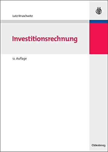 9783486587661: Investitionsrechnung