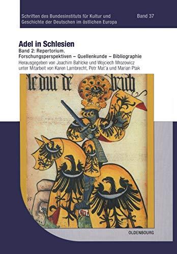 Adel in Schlesien 02: Joachim Bahlcke