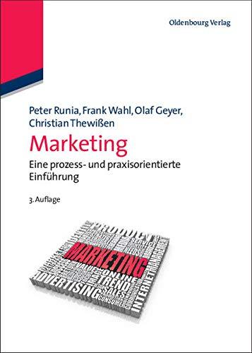 9783486591057: Marketing: Eine Prozess- Und Praxisorientierte Einfuhrung
