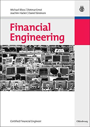 9783486596502: Financial Engineering: Certified Financial Engineer (German Edition)
