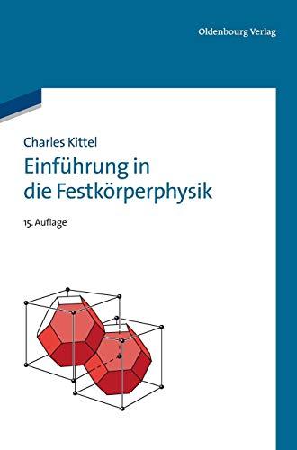 9783486597554: Einf hrung in Die Festk rperphysik