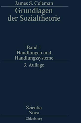 9783486597950: Handlungen Und Handlungssysteme (Scientia Nova) (German Edition)