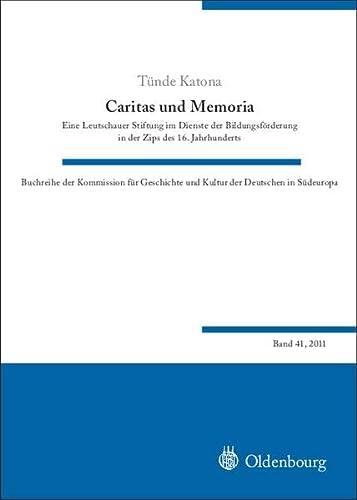 Caritas und Memoria: Tünde Katona