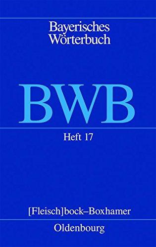 9783486704976: Heft 17: [Fleisch]bock - Boxhamer
