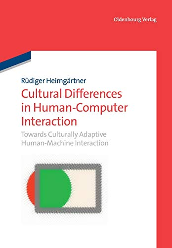 9783486705843: Cultural Differences in Human-Computer Interaction
