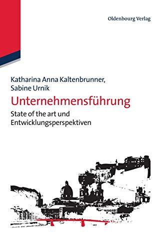 Unternehmensführung: Katharina Anna Kaltenbrunner