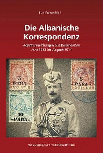 9783486707168: Die Albanische Korrespondenz