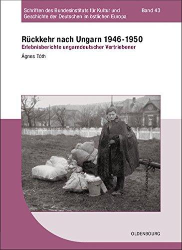Rückkehr nach Ungarn 1946-1950: Ágnes Tóth