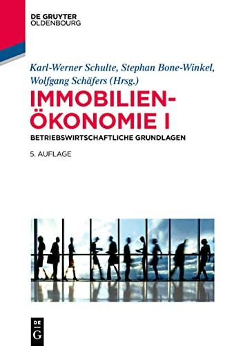 Immobilienökonomie I: Karl-Werner Schulte