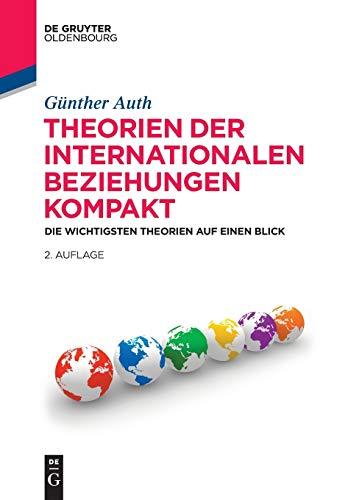 9783486714005: Theorien Der Internationalen Beziehungen Kompakt: Die Wichtigsten Theorien Auf Einen Blick (Politikwissenschaft Kompakt) (German Edition)