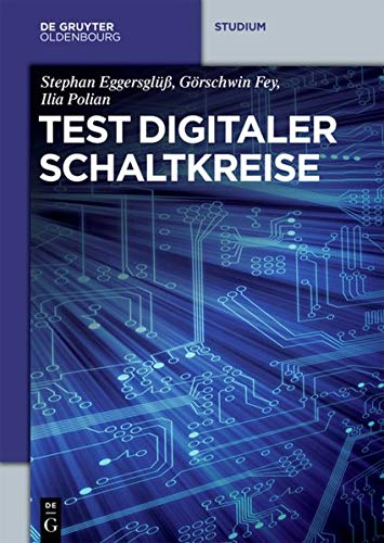 Test digitaler Schaltkreise: Stephan Eggersglüß