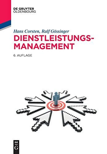 9783486720686: Dienstleistungsmanagement (Lehr- Und Handbucher Der Betriebswirtschaftslehre)