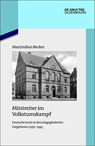 Mitstreiter im Volkstumskampf: Maximilian Becker