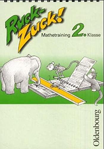 9783486854022: Ruck-Zuck. Mathetraining. 2. Klasse