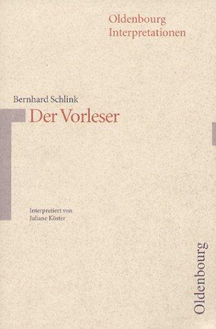 9783486887457: Der Vorleser (Oldenbourg-Interpretationen) (German Edition)