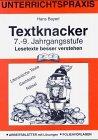 9783486940664: Textknacker. 7./8. Schuljahr