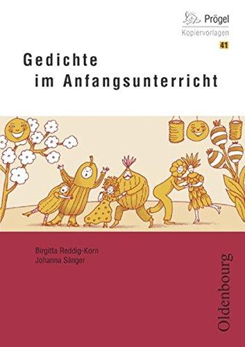 9783486960891: Gedichte im Anfangsunterricht: Kopiervorlagen