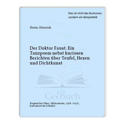 Der Doktor Faust.: Heine, Heinrich: