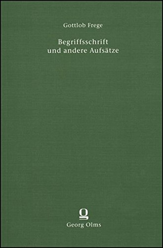 9783487006239: Begriffsschrift und andere Aufsätze