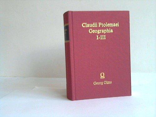 Geographia: Claudius, Ptolemaeus,: