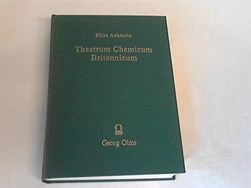 9783487019543: Theatrum Chemicum Britannicum