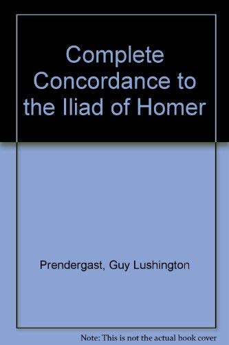 9783487041612: Complete Concordance to the
