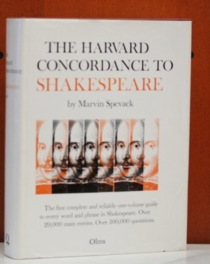 9783487048529: Harvard Concordance to Shakespeare (Alpha-Omega)