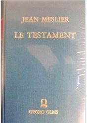 9783487052786: Le Testament (French Edition)