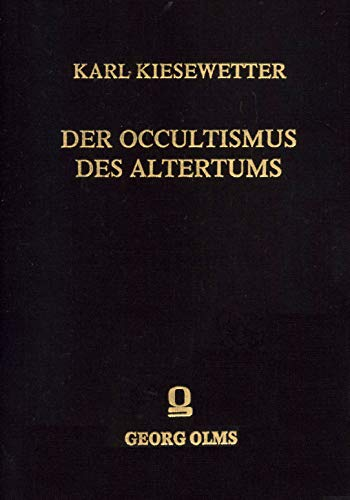 9783487060569: Der Occultismus des Altertums (German Edition)