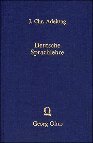 9783487063843: Deutsche Sprachlehre