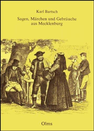 9783487066325: Sagen, Märchen und Gebräuche aus Mecklenburg (Livre en allemand)