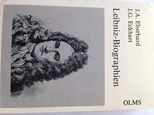 9783487072395: Leibniz Biographien