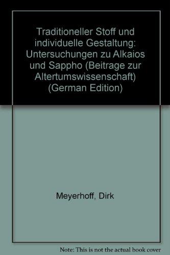 Traditioneller Stoff und individuelle Gestaltung. Untersuchungen zu: Meyerhoff, Dirk
