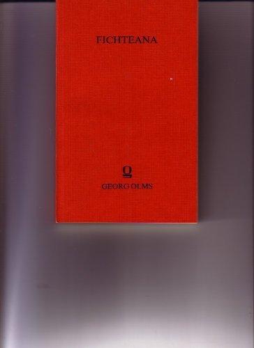 Schriften zu J. G. Fichtes Sozialphilosophie. J. G. Fichte und der neuere Sozialismus. Fichtes Sozialismus und sein Verhältnis zur Marxschen Dokrin - Lindau, Hans/ Weber, Marianne