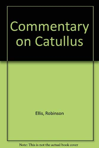 9783487079271: Commentary on Catullus