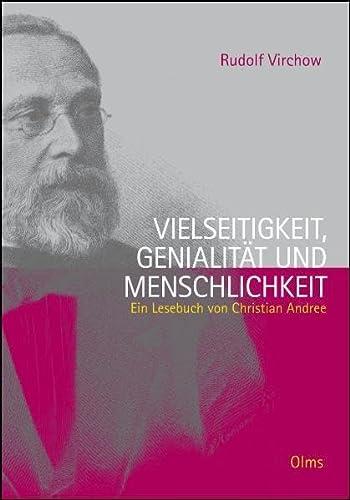 9783487088228: Rudolf Virchow. Vielseitigkeit, Genialität und Menschlichkeit