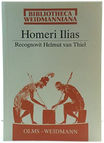 9783487094601: Homeri Ilias (Bibliotheca Weidmanniana)