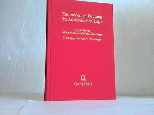 Über den Satz des Widerspruchs bei Aristoteles (Zur modernen Deutung der aristotelischen Logik) (German Edition) (3487097613) by Jan Łukasiewicz