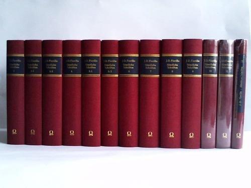 Sämtliche Schriften. 12 Bände in 14 Bänden: Fiorillo, Johann Dominik