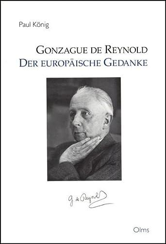 Gonzague de Reynold.: König, Paul: