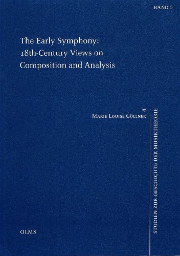 9783487126739: Early Symphony: 18th-century Views on Composition And Analysis