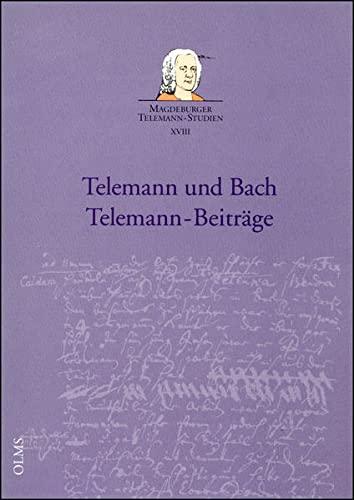 Telemann und Bach - Telemann-Beiträge (Paperback)