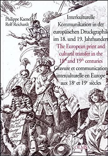 9783487130019: Interkulturelle Kommunikation in der europäischen Druckgraphik im 18. und 19. Jahrhundert