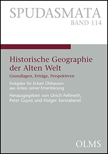 9783487133874: Historische Geographie der Alten Welt