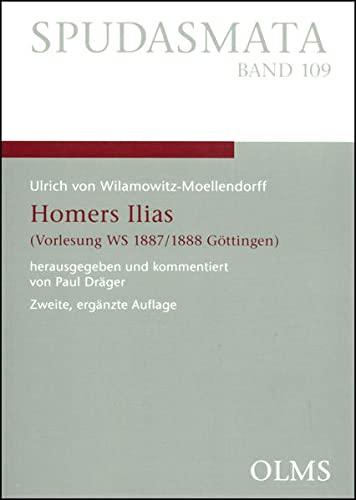 9783487136196: Homers Ilias