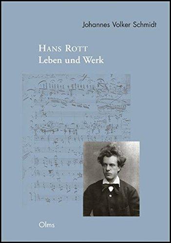 9783487142227: Hans Rott - Leben und Werk