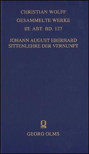 Sittenlehre der Vernunft: Johann August Eberhard