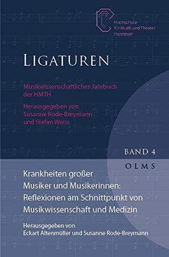 9783487143286: Krankheiten großer Musiker und Musikerinnen: Reflexionen am Schnittpunkt von Musikwissenschaft und Medizin