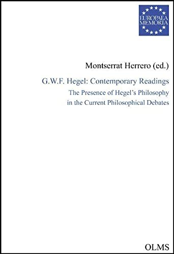 G. W. F. Hegel: contemporary readings : Herrero López, Montserrat